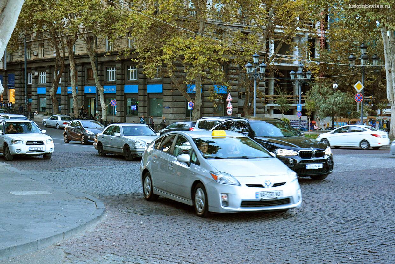 Такси в Тбилиси, трансфер из аэропорта и приложения