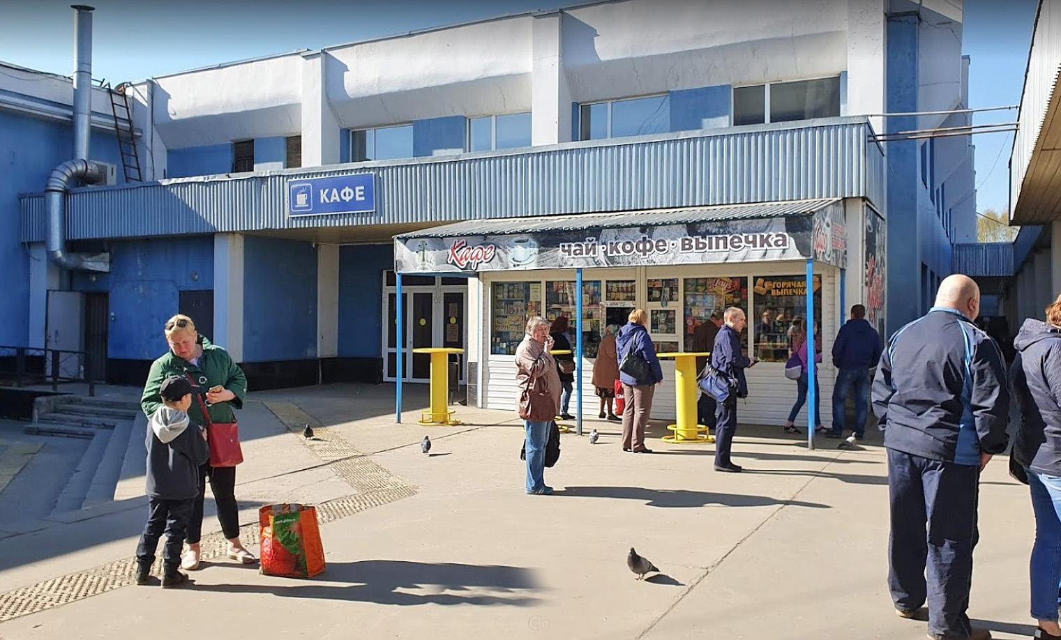 Автовокзал в Ярославле услуги и где поесть