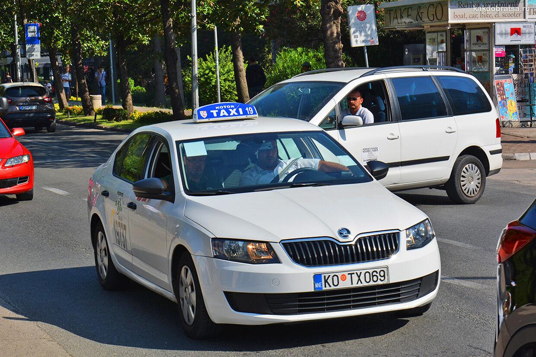Такси и трансфер Будва Котор Черногория