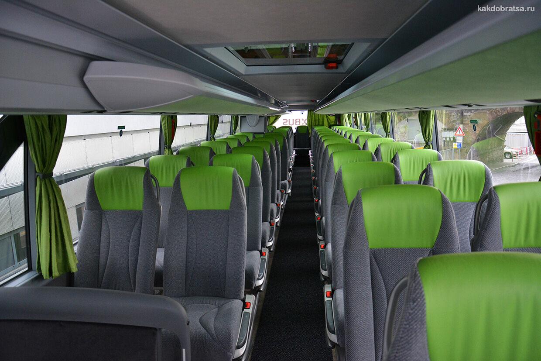 На автобусе из Лейпцига в Прагу