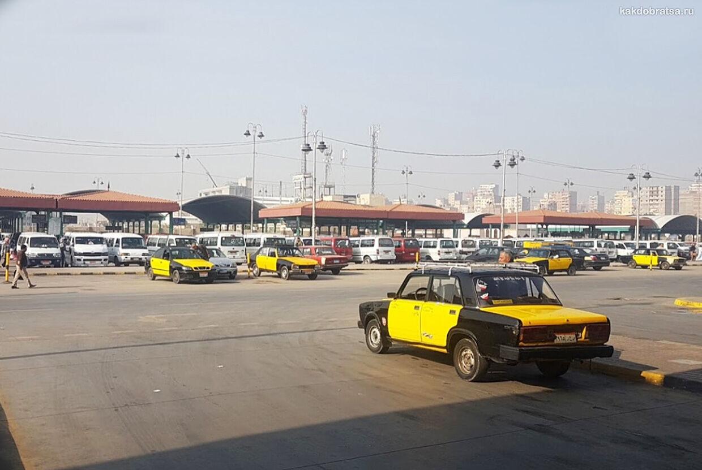 Трансфер на такси из Каира в Александрию
