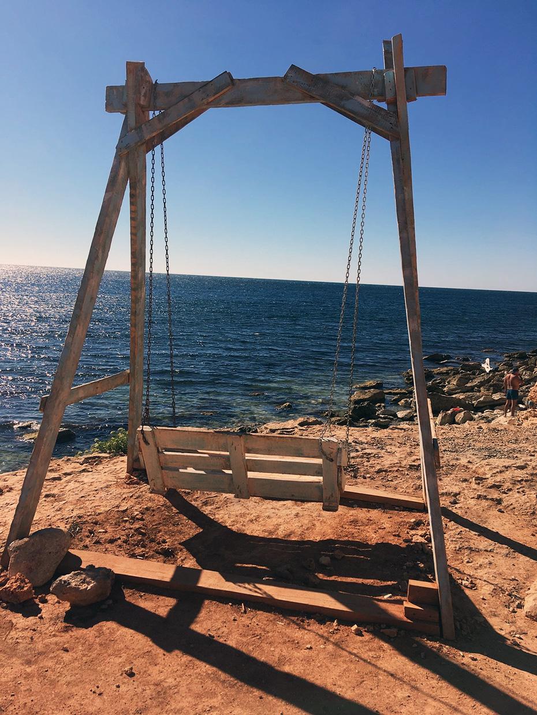 Казачья бухта инстаграмное место в Крыму