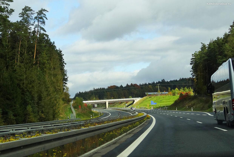 На автомобиле из Лейпцига в Прагу
