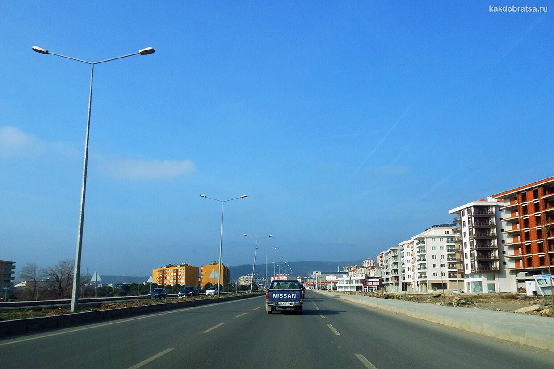 На автомобиле из Стамбула в Измир дорога