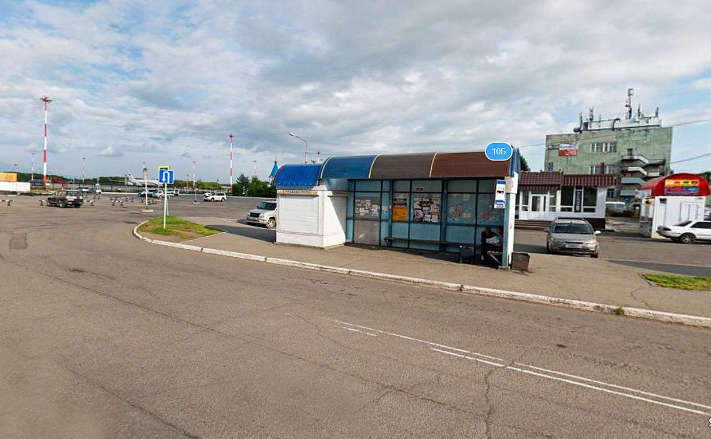 Автобус из аэропорта Петропавловска-Камчатского в центр