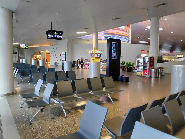 Самара аэропорт Курумоч услуги и внутри