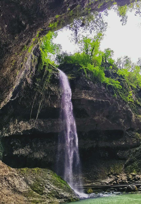 Водопад Глубокий Яр Пасть дракона в Сочи