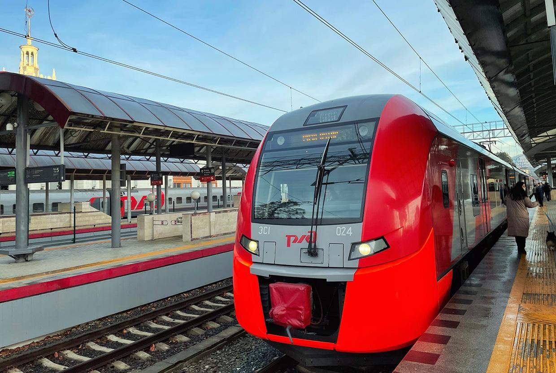Поезд из Краснодара в Сочи