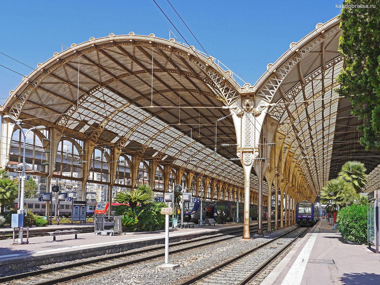 Поезд из Москвы в Ниццу способ добраться