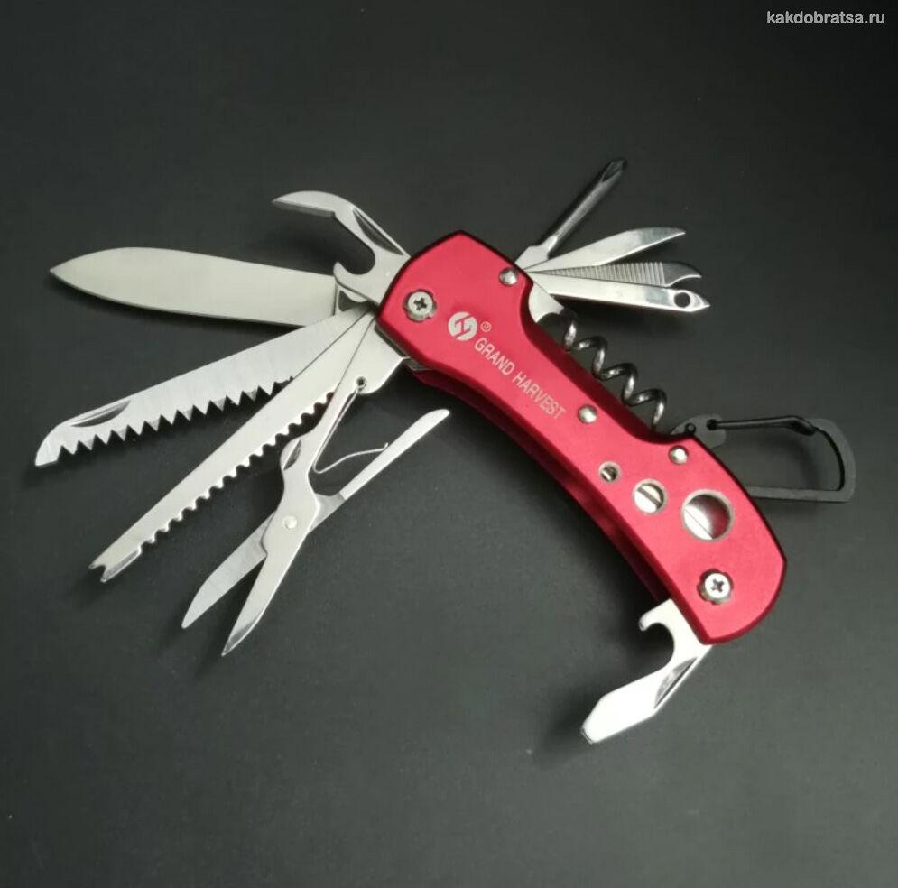 Многофункциональный швейцарский нож недорогой и качественный