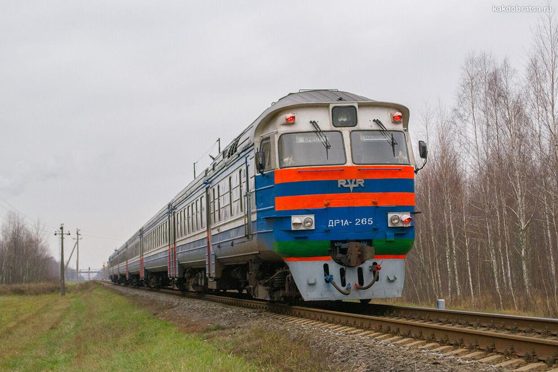 Поезд в Тобольск