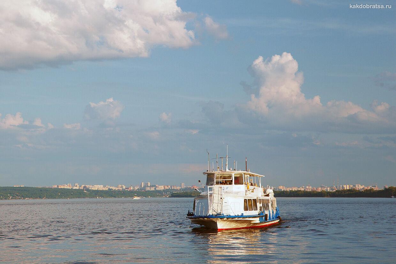По реке Волга как добраться из Тольятти в Самару