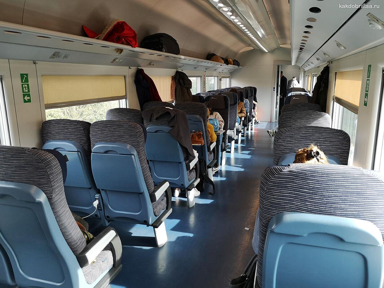 Как добраться на поезде из Венеции в Милан
