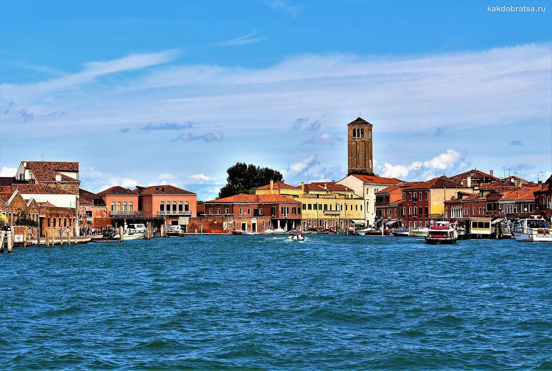 Экскурсия из Венеции на остров Мурано на русском языке