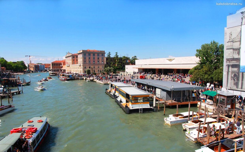 Из Венеции на остров Мурано на пароме вапоретто