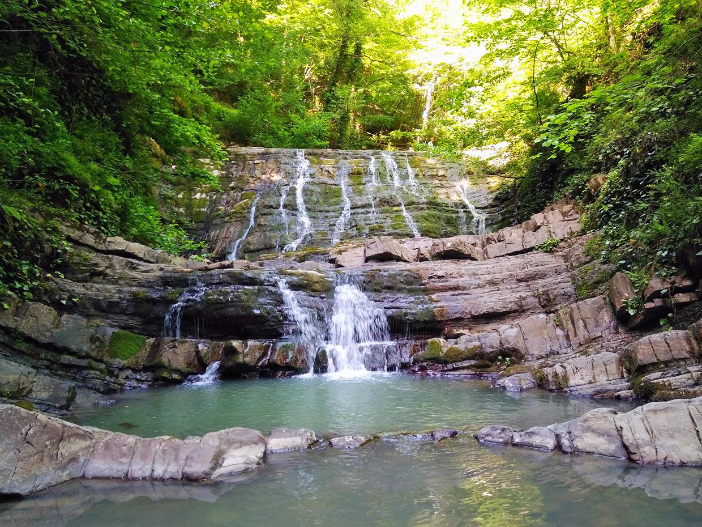 Змейковские водопады в Сочи как добраться и фото