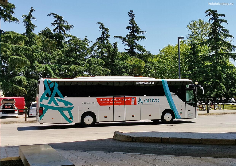 Автобус из Риеки в Опатию