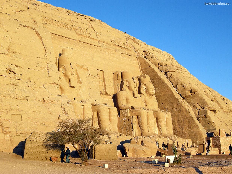 Абу-Симбел в Египте тур и экскурсия