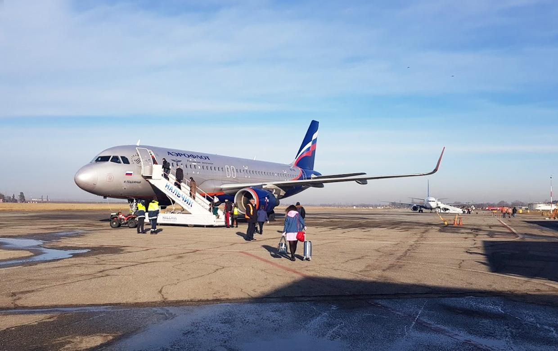 Рейсы из аэропорта Нальчика