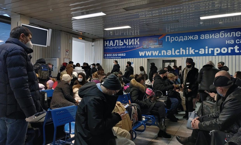 Терминал аэропорта Нальчика