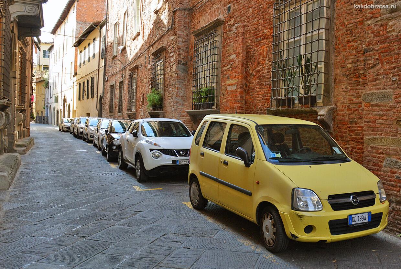На автомобиле из Милана до Генуи