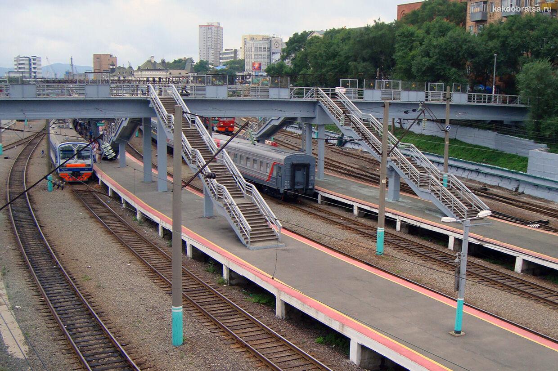Поезд из Москвы во Владивосток