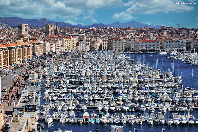 Кораблик из Ниццы в Марсель