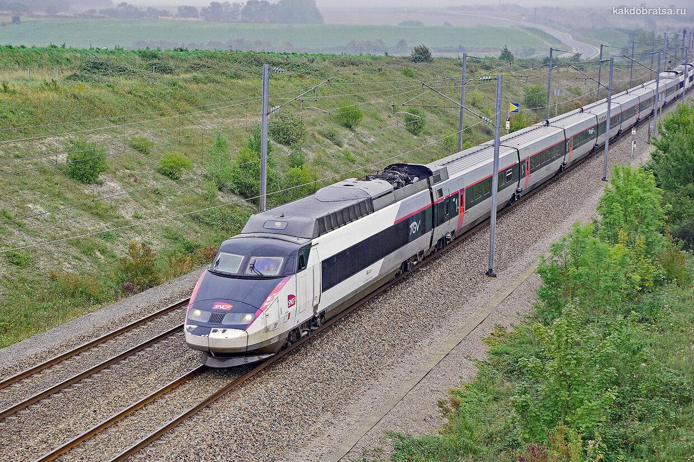 Поезд из Ниццы в Марсель
