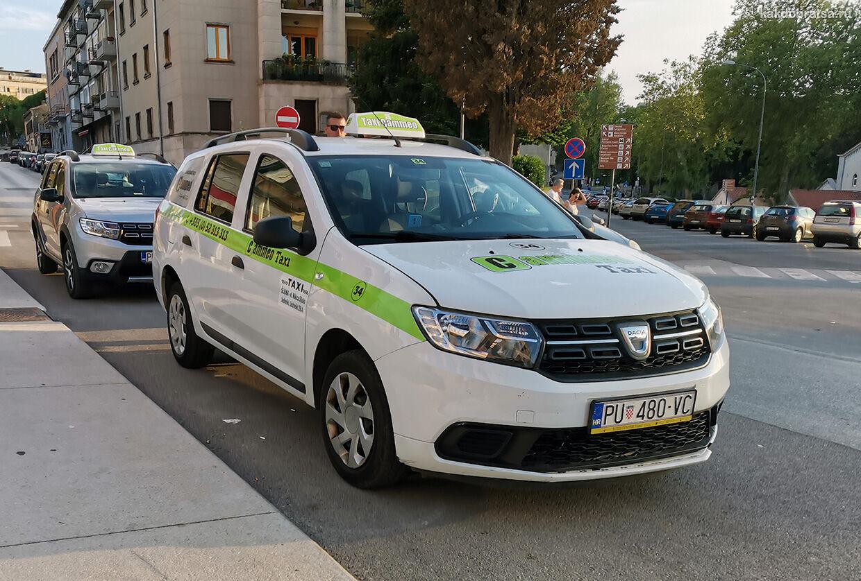 Такси из Пулы в Ровинь