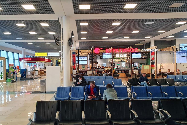 Аэропорт Владивосток Кневичи терминал услуги