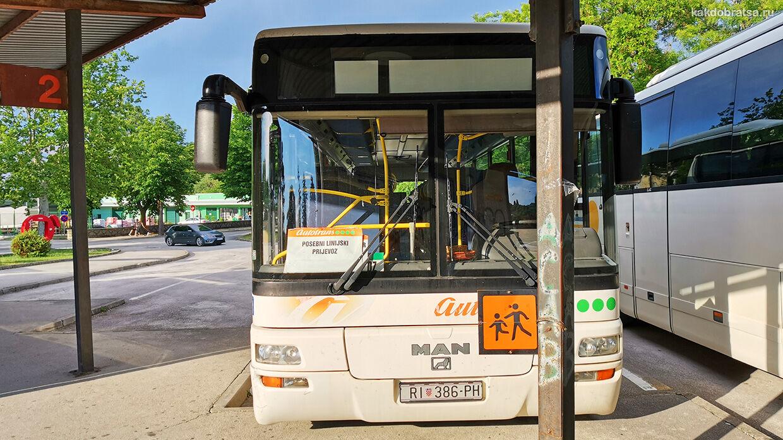 Пазин в Хорватии автовокзал