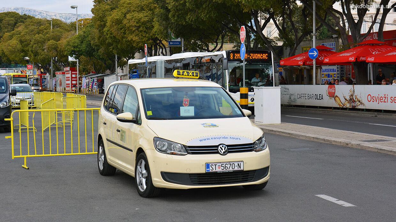 Такси в Сплите