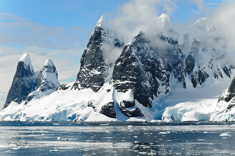 Горы на Антарктиде