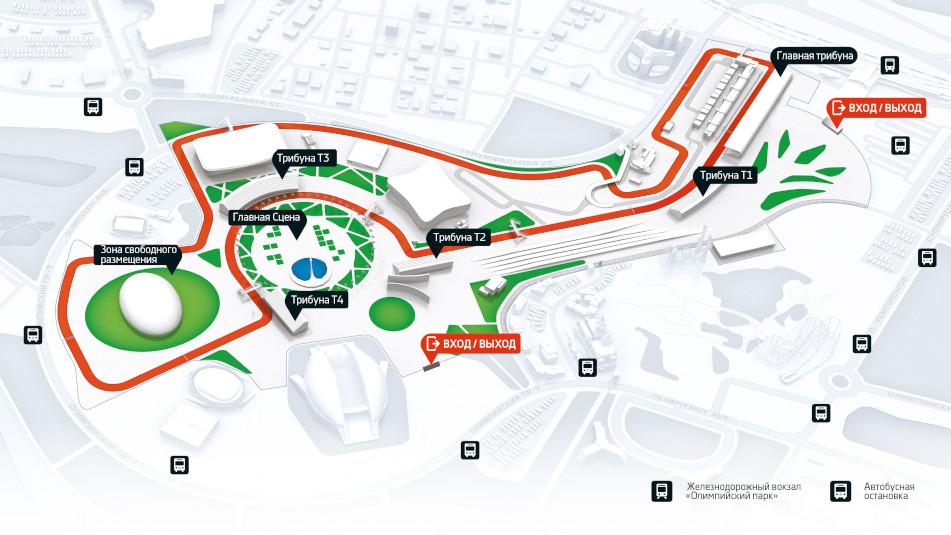 Автодром в Сочи Формула схема трассы