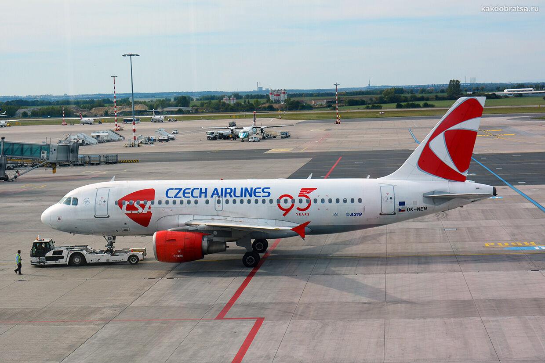 Авиабилеты и перелет из Варшавы в Прагу