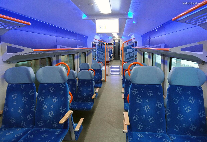 Поезд из Варшавы в Прагу