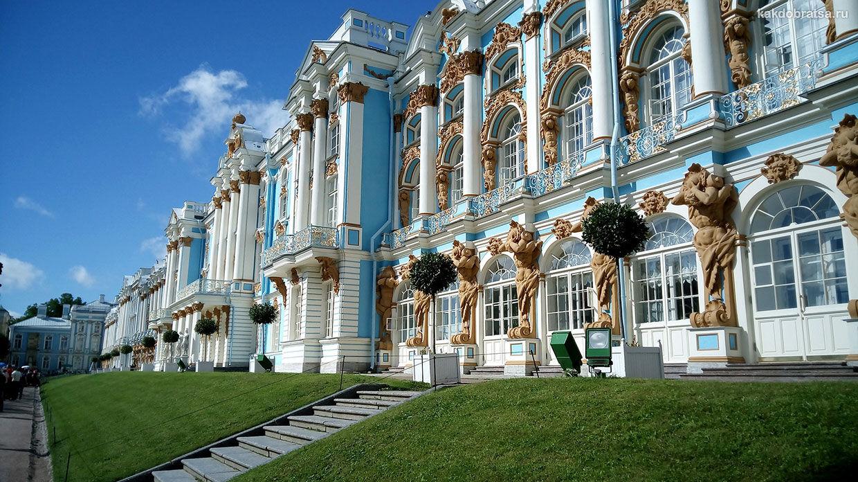 Царское Село и Екатерининский дворец с Янтарной комнатой в городе Пушкин как добраться из Питера