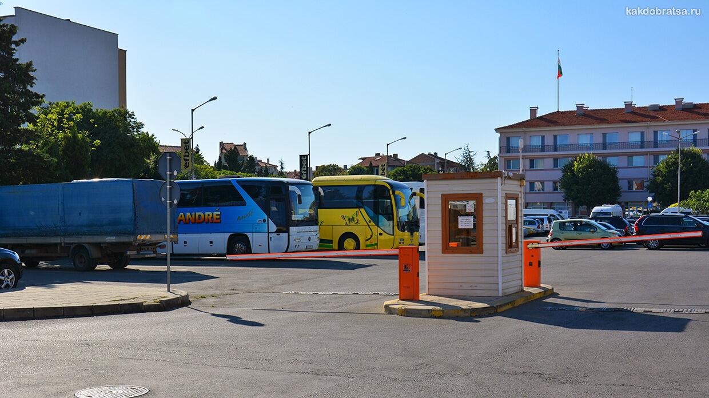 Автовокзалы города Поморие в Болгарии