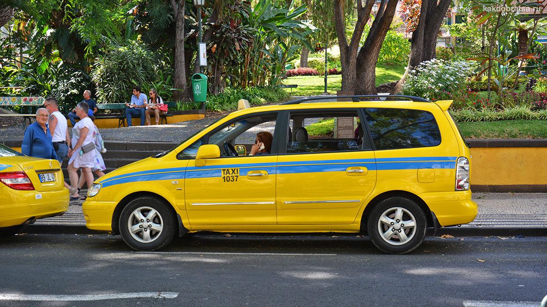 Такси на Мадейре и в Фуншале